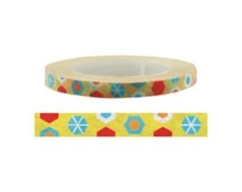 Hexagonal Washi Tape (6mm X 15M)
