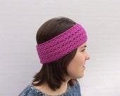 Wool Headband, Ear Warmer, Fuchsia  Headband, Pink Headband, Spring Trends, Gift for Her, Winter Fashion