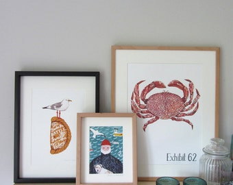 Seaside Retreat Art Print Collection
