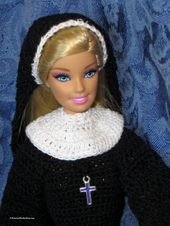 Fashion Doll Nun - Includes Doll and Costume