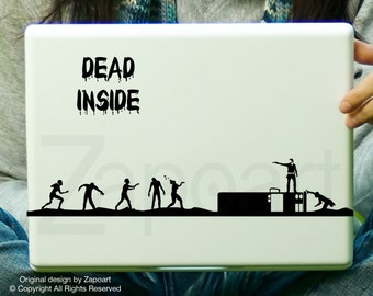 Dead Inside - The Walking Dead Decal Car Laptop Decal iPad Sticker