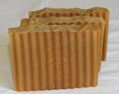 Pumpkin Pie Goat Milk Luxury Cold Process Rustic Soap with Pumpkin Puree - Palm Free