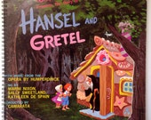 Hansel & Gretal Recycled Record Album Cover Book