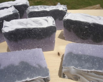 Wild Blackberry caffeine handmade soap carnivore friendly strong scent geekery tallow soap