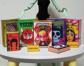 Doll Size Printable Halloween Costume Boxes