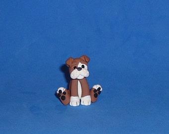 Polymer Clay Small Bulldog