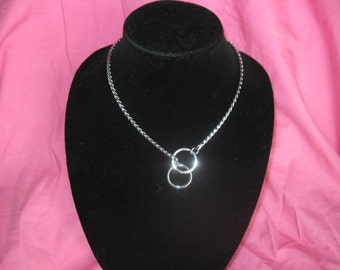 """18"""" Silver Necklace, Snake Chain Necklace"""