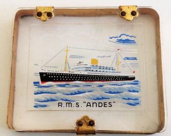 1930s R.M.S Andes Cigarette Case