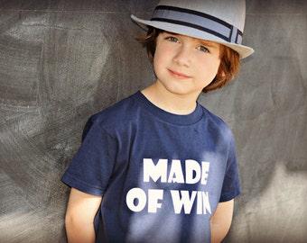 Made Of Win kids t-shirt