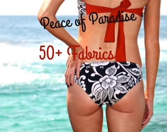 BELLOWS: REVERSIBLE Full Coverage Bikini Bottoms Create Your Own