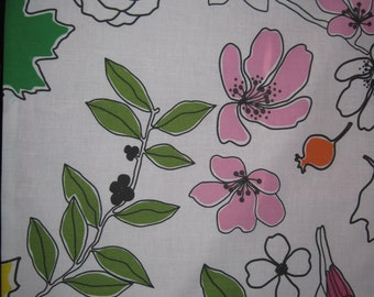 """14"""" x 14"""" Pillow Cover - Pink Flower Blooms of Happiness with Silhouette Leafy Branches in Backyard"""