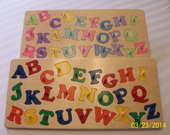 Your child's  ALPHABET PUZZLE