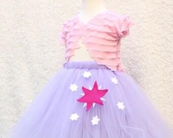 Twilight Sparkle Costume - My Little Pony Costume - Twilight Sparkle Tutu Skirt -  My little pony twilight cosplay