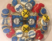 Thomas the Train Birthday Party Cookie Tray