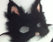 Custom Cat - Feathered Specialty Animal Masks