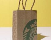 1:6 scale coffee shop small bag (printed mini)