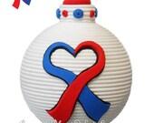 CHD - Congenital Heart Defects/Disease Awareness ornament