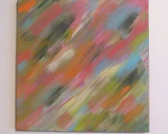 Abstract Painting, Canvas Art Abstract, Abstract Wall Art, Abstract Canvas, Abstract Canvas Art, 12x12 Canvas Abstract, Art