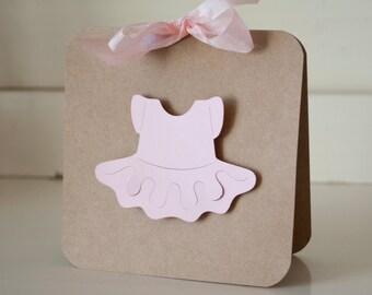 Tutu Ballerina Baby Shower Thank You Cards Notes Invitations Invites
