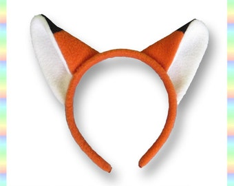 fox ears jump animal - photo #25