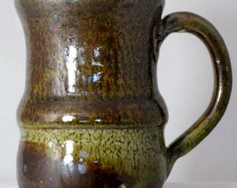 large coffee cup, ceramic cup, coffee cup, stoneware cup, tea cup, shino glaze