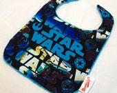 Star Wars Turquoise Bib