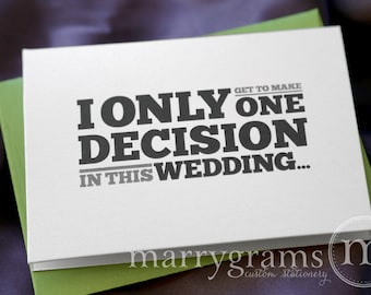 Will You Be My Groomsman Card, Best Man, Usher, Ring Bearer, Wedding Party - Fun, Simple Way for Guys to Ask Groomsmen Cards (Set of 6)