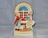Vintage Unused Mechanical Valentine Card