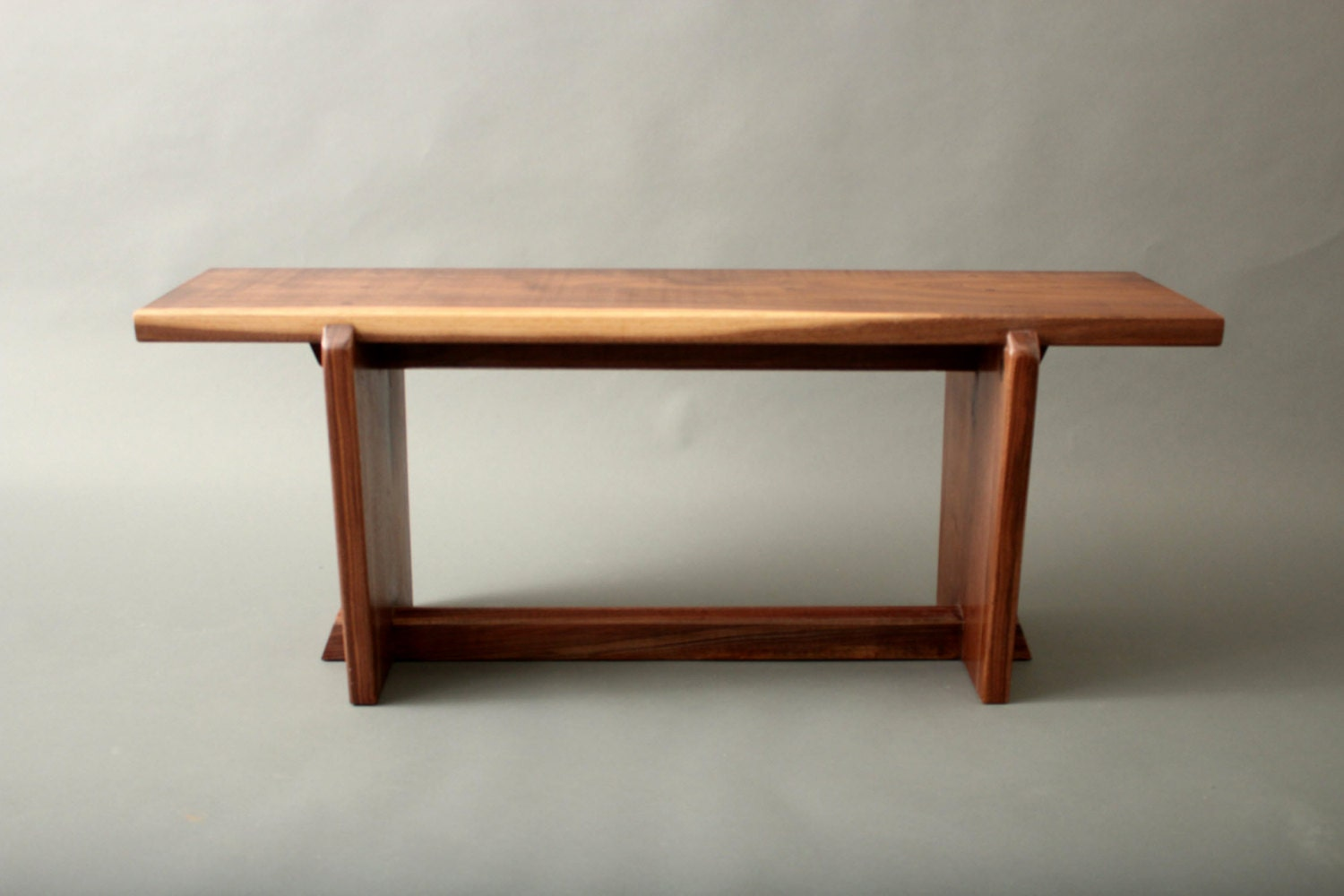 Walnut Bench Nakashima Mid Century Japanese Style For Your