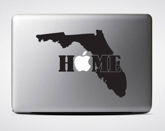 Florida State Home / Macbook Sticker / Laptop Decal