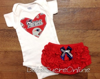 New England Patriots Girls Outfit