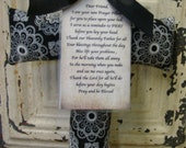 Prayer Pillows with Original Poem Cross Pillows, Cross Blessings