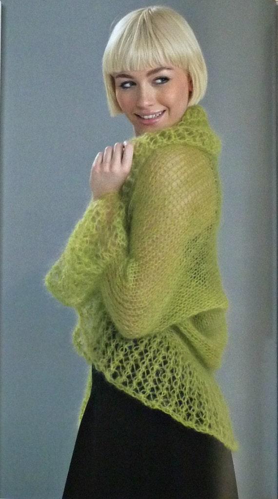 Womens Knitting Pattern W356 Wendy Air Ladies Knitting ...