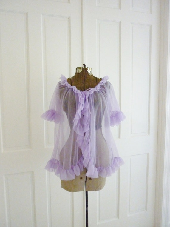 Vintage Lavender Baby Doll Nightie By Houseofhistory