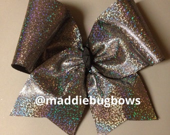 Holographic Cheer Bow