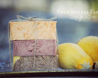 Soap, Pumpkin Soap, Primitve Gift, Fall Soap Bundle, Homemade Soap, Stocking Stuffer, Gifts for Mom, Soap Gift Idea, Natural Soap