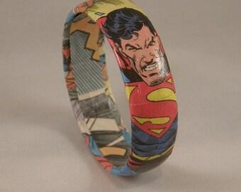 Superman Comic Book Bracelet