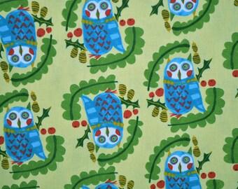 Kokka Japan - Owl Print - 1/2 yard