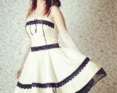 Full Circle Swing Straped Dress Marilyn Monroe Retro Look