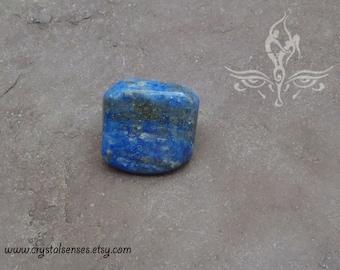 Lapis Lazuli Tumbled Gemstone Crystal - 1 piece Medium Size (LL0023) Organization, Intuition, Psychic Abilities, Third Eye Chakra