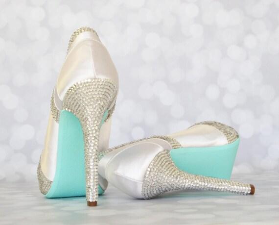 Tiffany Blue Soled Wedding Shoes