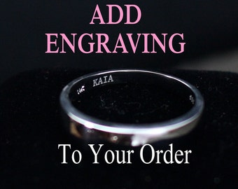 Add Engraving to Your order (Up to 15 Letters & Spaces)