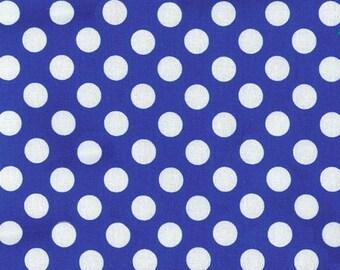 Royal Blue Ta Dot from Michael Miller