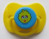 "Reborn Putty Doll Pacifier,  Cute ""Sesame Street ~ Big Bird"" With Putty & Instructions"