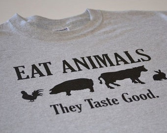 Foodie Shirt Foodie Gift for foodies funny Eat Animals t shirt for men Food Tshirt