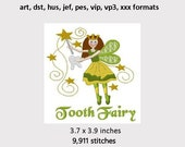 Tooth Fairy Machine Embroidery Design