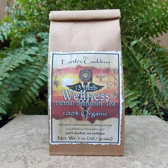 13 Herb Wellness Herbal Immunity 100% Organic Herbal Tea