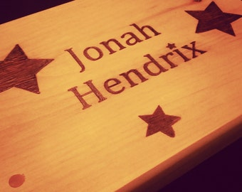 Personalized Wooden Stool   **Birthday** Baptism** Time Out**