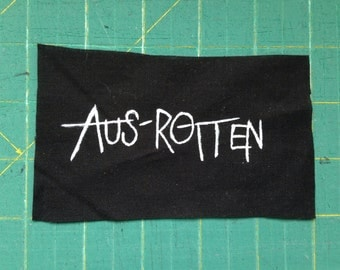 aus-rotten sew on patch