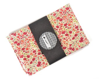 Mens Pocket Square From Russia With Love red flowers